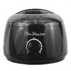 подогреватель для горячего воска + ковш 300 pro-wax100 черный
