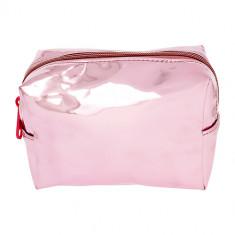 Косметичка LADY PINK прямоугольная средняя розовая