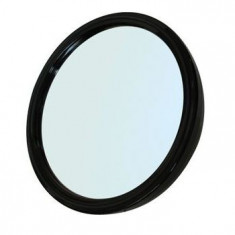 DEWAL PROFESSIONAL Зеркало заднего вида с ручкой, пластик, черное 23 см