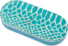 DEWAL BEAUTY Брусок полировочный Дикая природа, голубая рептилия, 240/3000 грит 4x1,2x9 см