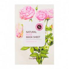 Маска тканевая с экстрактом розы THE SAEM Natural Rose Mask Sheet 21мл