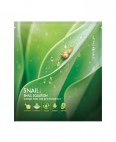 маска для лица гидрогелевая nature republic snail solution hydrogel mask