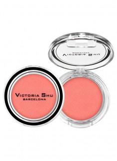 Румяна для лица Холодный розовый с сияющими частицами VICTORIA SHU