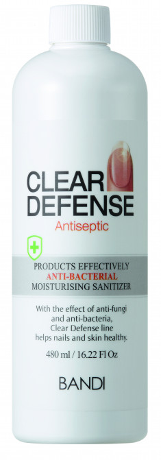 BANDI Спрей для кожи и ногтей Надежная защита / CLEAR DEFENSE ANTISEPTIC 480 мл