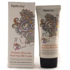 FarmStay Многофункциональный ББ крем с экстрактом улитки SPF50+/PA+++ 50мл Farm Stay