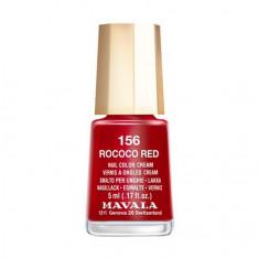 Mavala, Лак для ногтей №156, Rococo Red