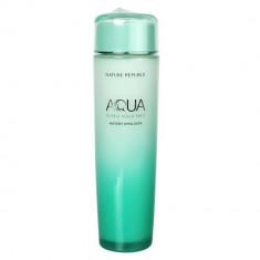 эмульсия для лица увлажняющая nature republic super aqua max watery emulsion