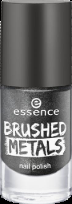 Лак для ногтей Вrushed metals nail polish Essence 06 серый металлик