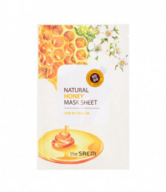 Маска тканевая с экстрактом меда THE SAEM Natural Honey Mask Sheet 21мл