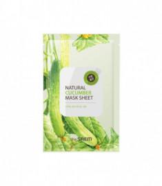 Маска тканевая с экстрактом огурца THE SAEM Natural Cucumber Mask Sheet NEW 21мл