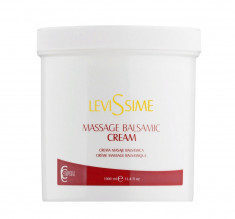 LEVISSIME Крем массажный для тела / MASSAGE BALSAMIC CREAM 1000 мл