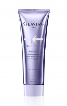 KERASTASE Молочко-уход за окрашенными светлыми волосами со свойствами маски и эффектом кондиционера Цикафлаш / БЛОНД АБСОЛЮ 250 мл
