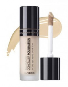 Консилер THE SAEM Cover Perfection Concealer Foundation 01 Clear Beige 38г