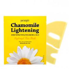 гидрогелевая маска для лица, выравнивающая тон кожи petitfee chamomile lightening hydrogel face mask