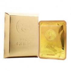 Маска для лица улиточная Elizavecca 24k Gold Water Dual Snail mask pack 25г