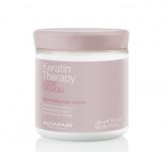 ALFAPARF MILANO Маска кератиновая увлажняющая восстанавливающая для волос / LISSE DESIGN REHYDRATING MASK 200 мл