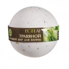 Эколаб Бурлящий шар для ванны Розмарин и лаванда ECOLAB