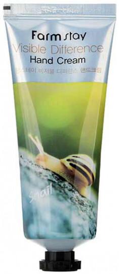 FARMSTAY Крем с муцином улитки для рук / Visible Difference Hand Cream (AD) 100 г