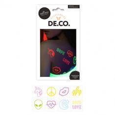 Набор переводных татуировок для тела DE.CO. by Miami tattoos Neon