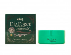 KIMS Патчи гидрогелевые Сила Изумруда / Dia Force Emerald Hydro-Gel Eye Patch 60 шт