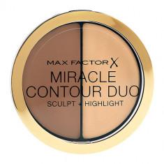 Палетка для контуринга MAX FACTOR MIRACLE CONTOURING DUO тон Light medium