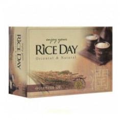 Мыло CJ Lion Rice day с экстрактом рисовых отрубей 100г