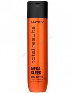 Шампунь с маслом Ши Matrix Total results Mega Sleek 300 мл