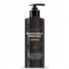 шампунь для волос с муцином улитки ayoume black snail prestige shampoo