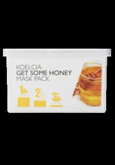 Тканевая маска с экстрактом меда KOELCIA GET SOME HONEY MASK PACK 30 шт