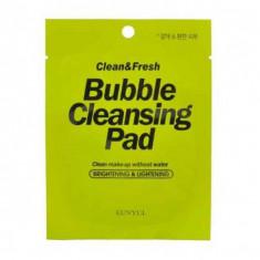 тканевые подушечки eunyul clean & fresh bubble cleansing pad