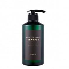 шампунь для волос с маслом черного тмина eunyul black seed therapy shampoo