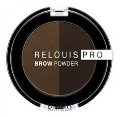 Тени для бровей Декоративная косметика Relouis
