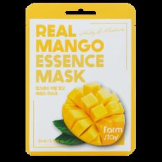 Тканевая маска для лица с экстрактом манго FARMSTAY REAL MANGO ESSENCE MASK 23 мл