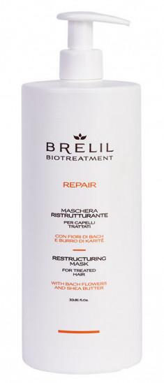 BRELIL PROFESSIONAL Маска восстанавливающая для волос / BIOTREATMENT Repair 1000 мл