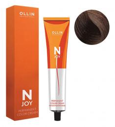 OLLIN PROFESSIONAL 5/37 крем-краска перманентная для волос, светлый шатен золотисто-коричневый / N-JOY 100 мл