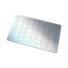 Freedecor, Металлизированные наклейки №129, серебро