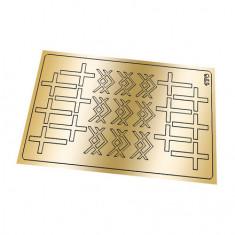 Freedecor, Металлизированные наклейки №176, золото