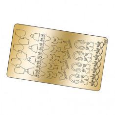 Freedecor, Металлизированные наклейки №191, золото