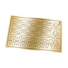 Freedecor, Металлизированные наклейки №185, золото