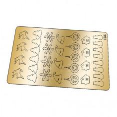 Freedecor, Металлизированные наклейки №194, золото