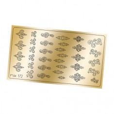 Freedecor, Металлизированные наклейки №172, золото
