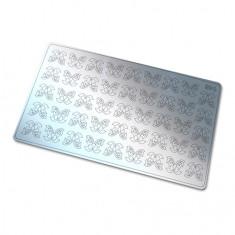 Freedecor, Металлизированные наклейки №146, серебро