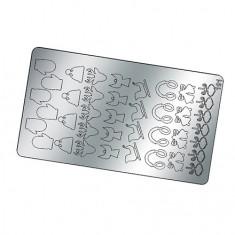 Freedecor, Металлизированные наклейки №191, серебро