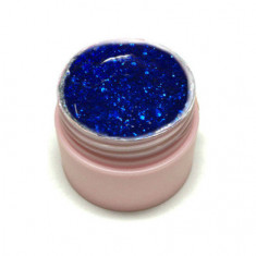Ice Nova, Глиттер-гель №52, синий