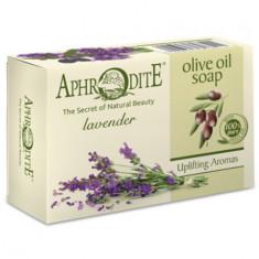 Aphrodite Мыло оливковое с ароматом лаванды 100 г
