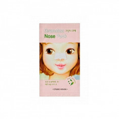 патч очищающий для носа etude house  green tea nose pack