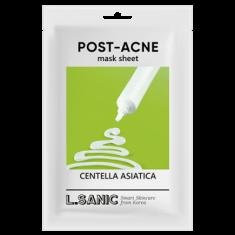 Тканевая маска с экстрактом центеллы азиатской против постакне L.SANIC CENTELLA ASIATICA POST-ACNE MASK SHEET 25мл