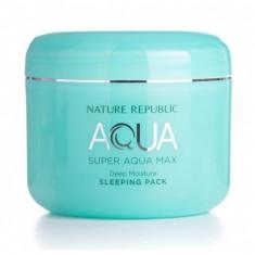 маска для лица ночная nature republic super aqua max deep moisture sleeping pack
