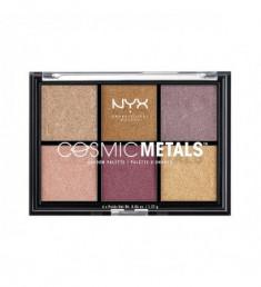 NYX PROFESSIONAL MAKEUP Палетка теней Cosmic Metals Shadow Palette - 01