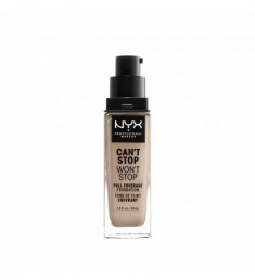 NYX PROFESSIONAL MAKEUP Тональная основа Can't Stop Won't Stop Full Coverage Foundation - Fair 15